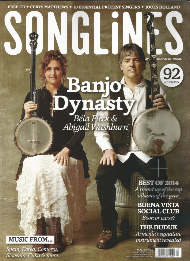 Bela & Abigail - Songlines  Covert Jan:Feb 15