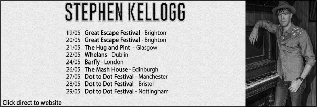 Stephen Kellogg Tour Picture